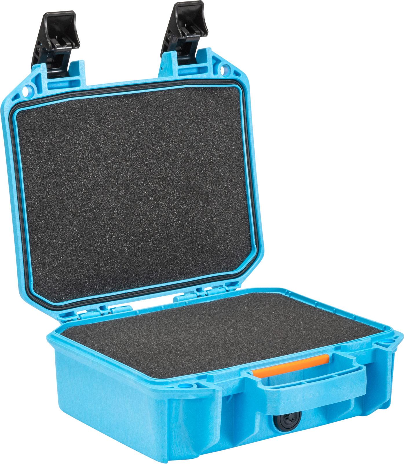 pelican vault case blue carying case v100c