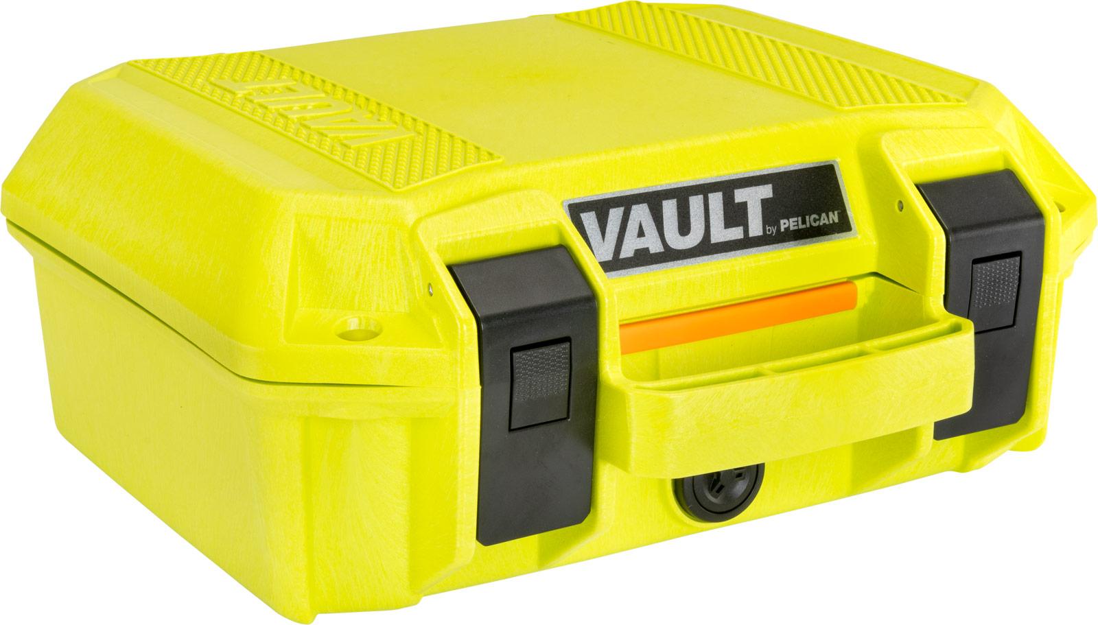 pelican vault series case bright green cases