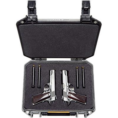 pelican pistol case vault v200 gun cases