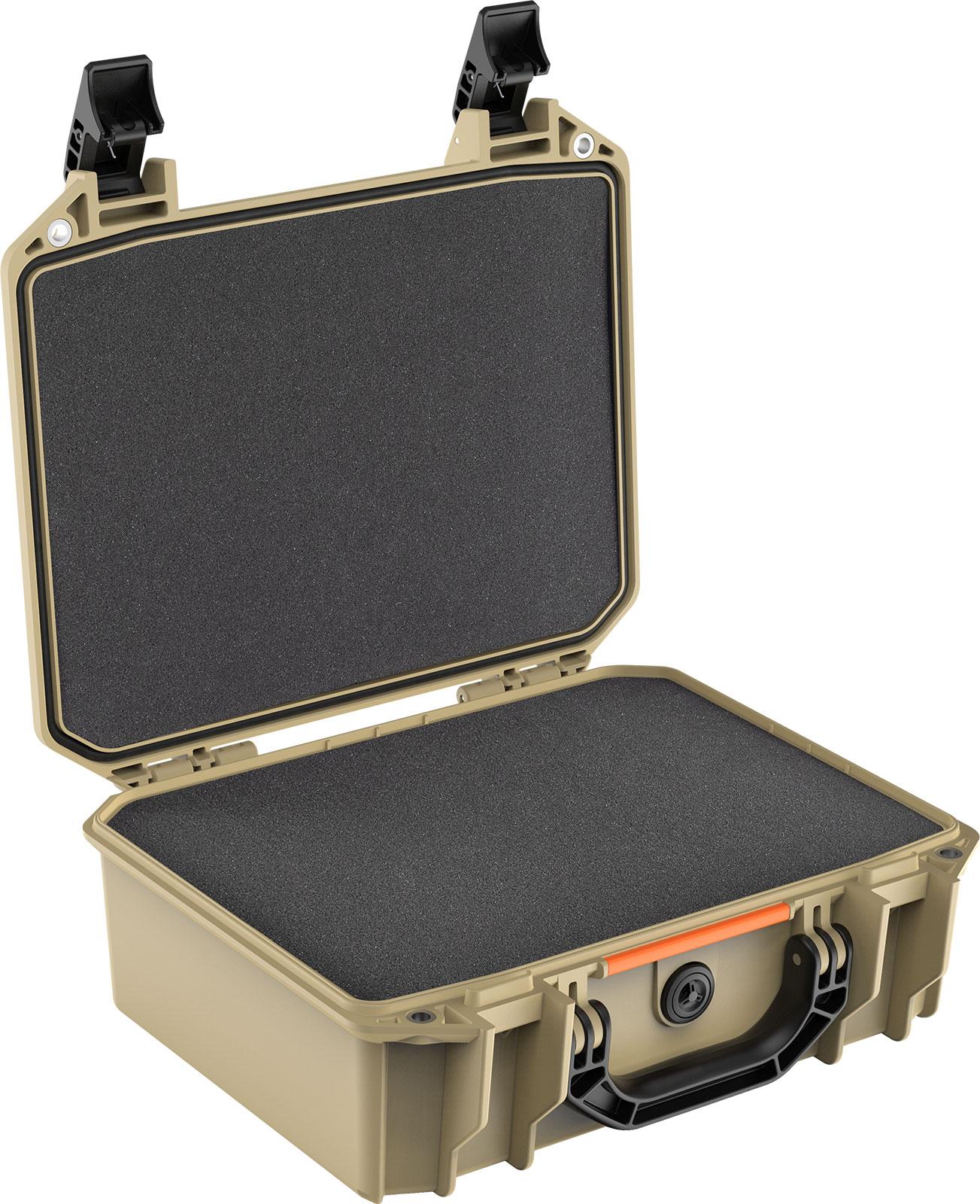 pelican v200c vault cases tan hard case