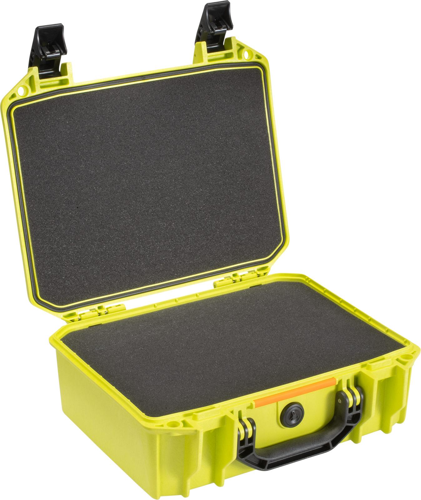 pelican vault equipment case v200c green