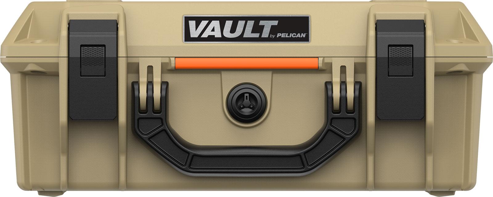 pelican vault hard cases v200 tan case
