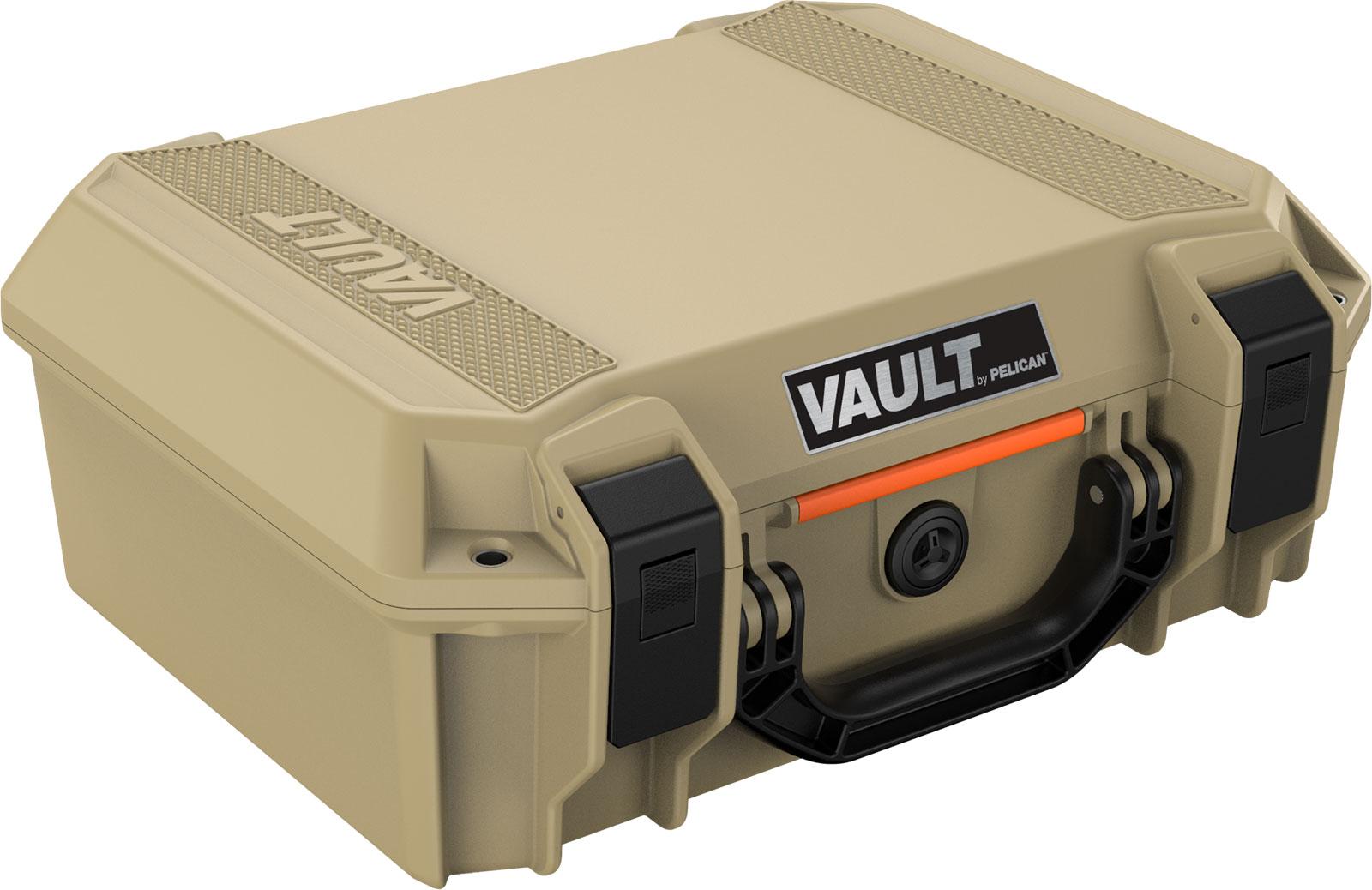 pelican vault v200 tan equipment case