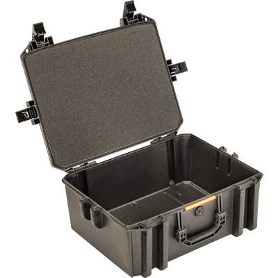 pelican vault v550 hard camera case empty