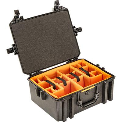 pelican vault v550 photo camera divider case