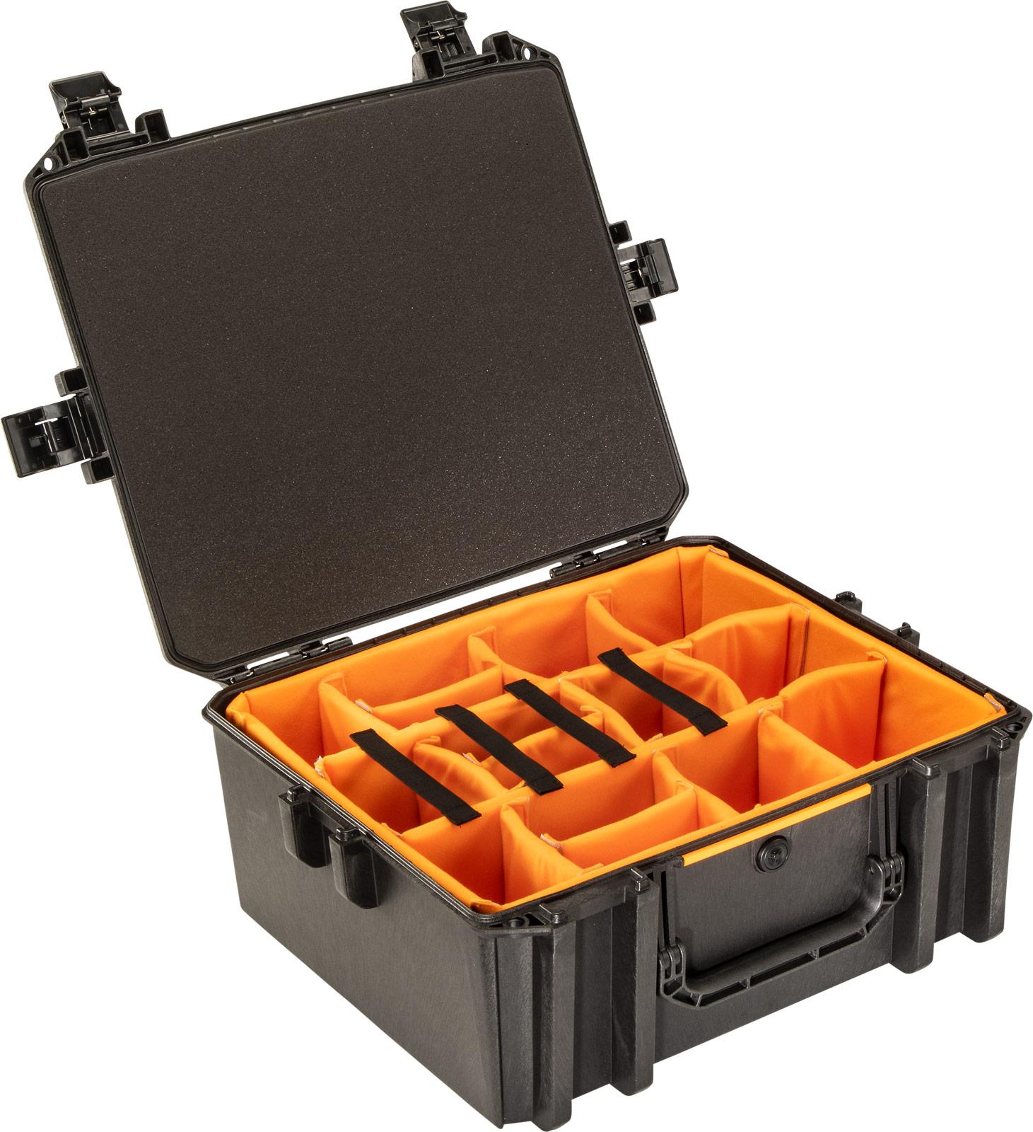 pelican vault v600 photo camera divider case