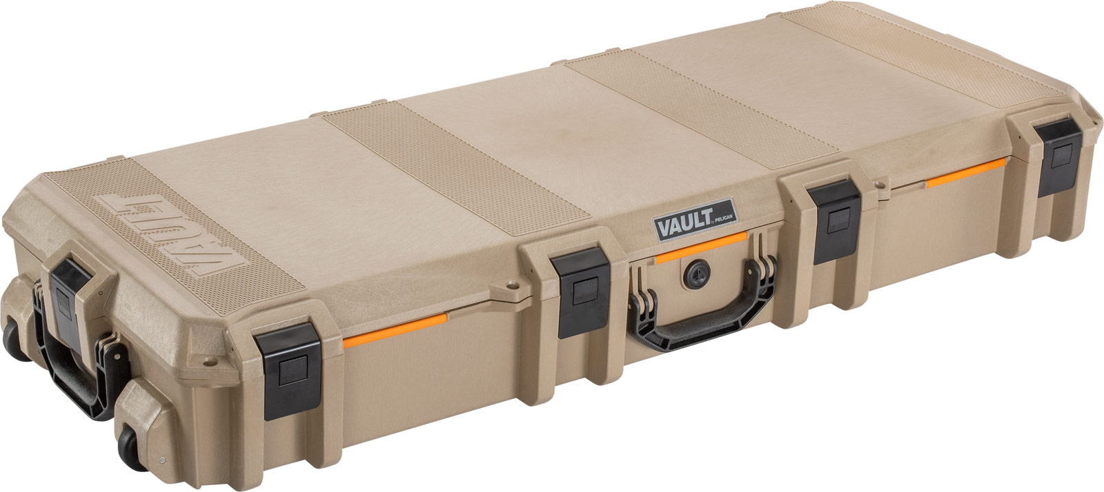 pelican vault v730 tan ar15 rifle case