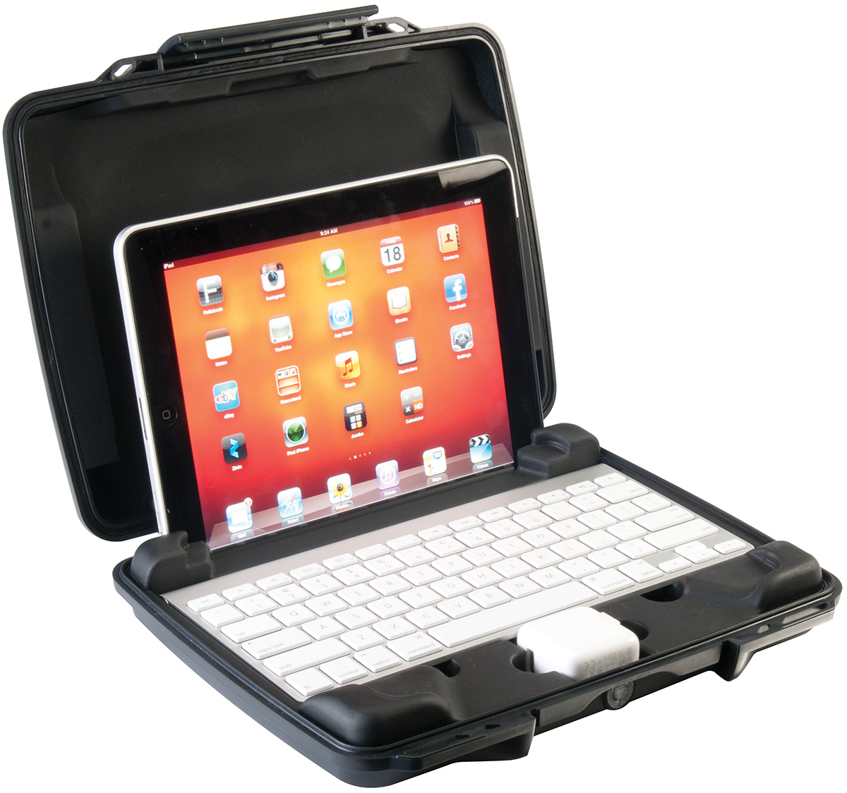 pelican watertight hard 11075 ipad case
