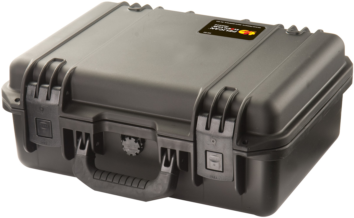 pelican hard waterproof rigid pistol case