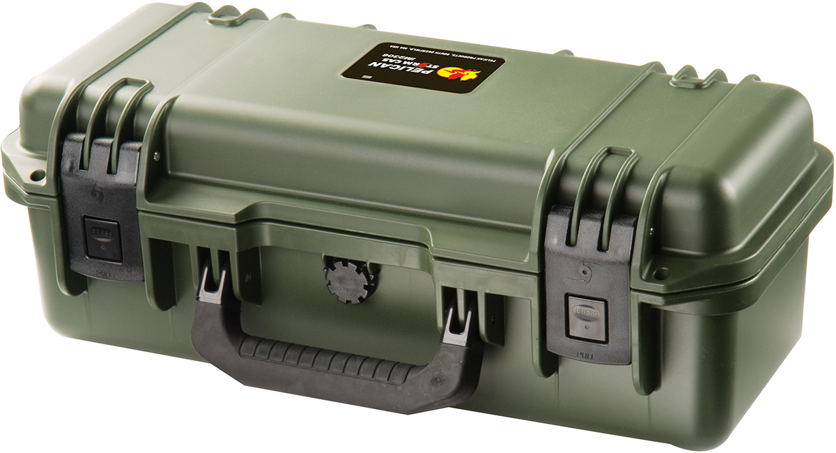 pelican storm rifle scope hard protection case