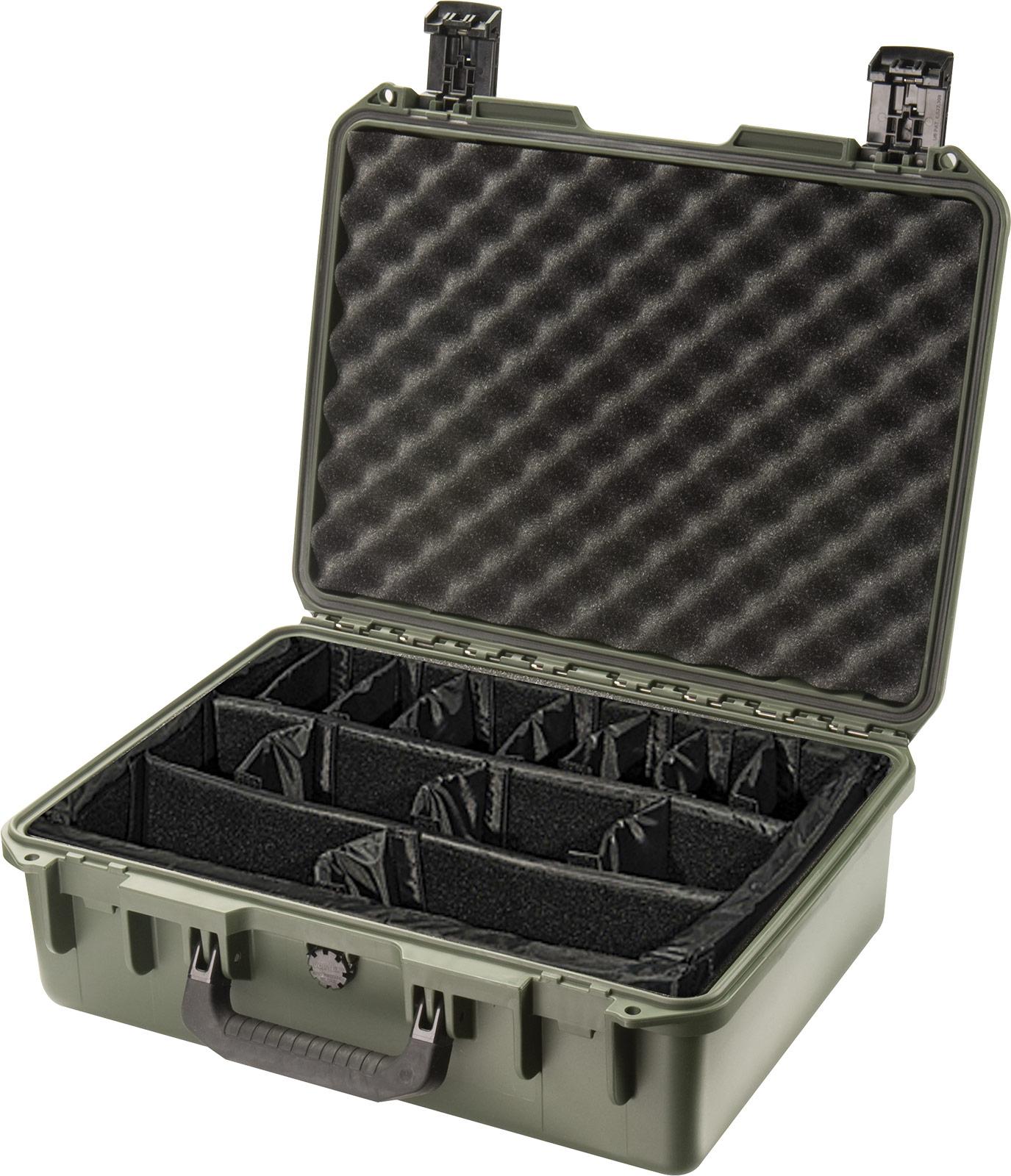 pelican im2400 green padded divider case
