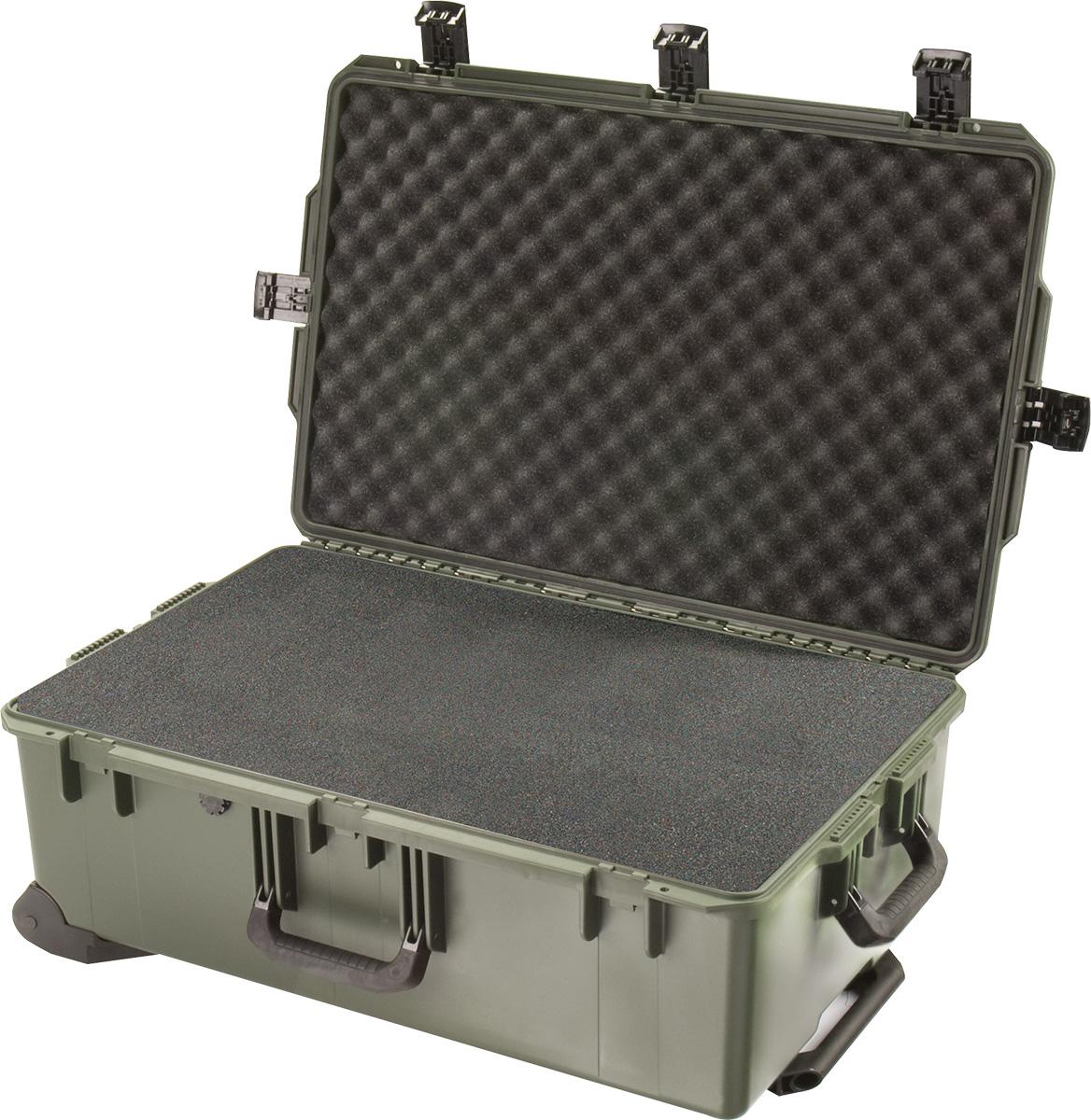 pelican im2950 green wheeled hard case