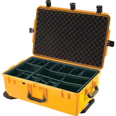 pelican im2950 yellow padded divider case