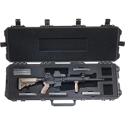 pelican ar15 m16 hard rifle protection case