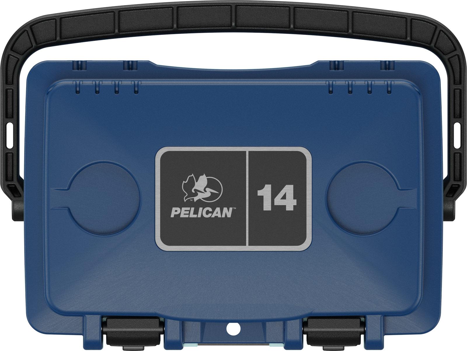 pelican 14qt pacific blue seafoam beverage cooler