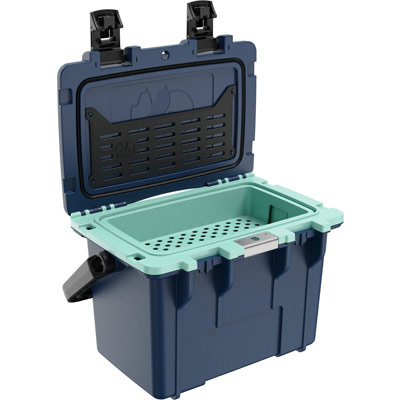 pelican 14qt pacific blue seafoam dry box cooler