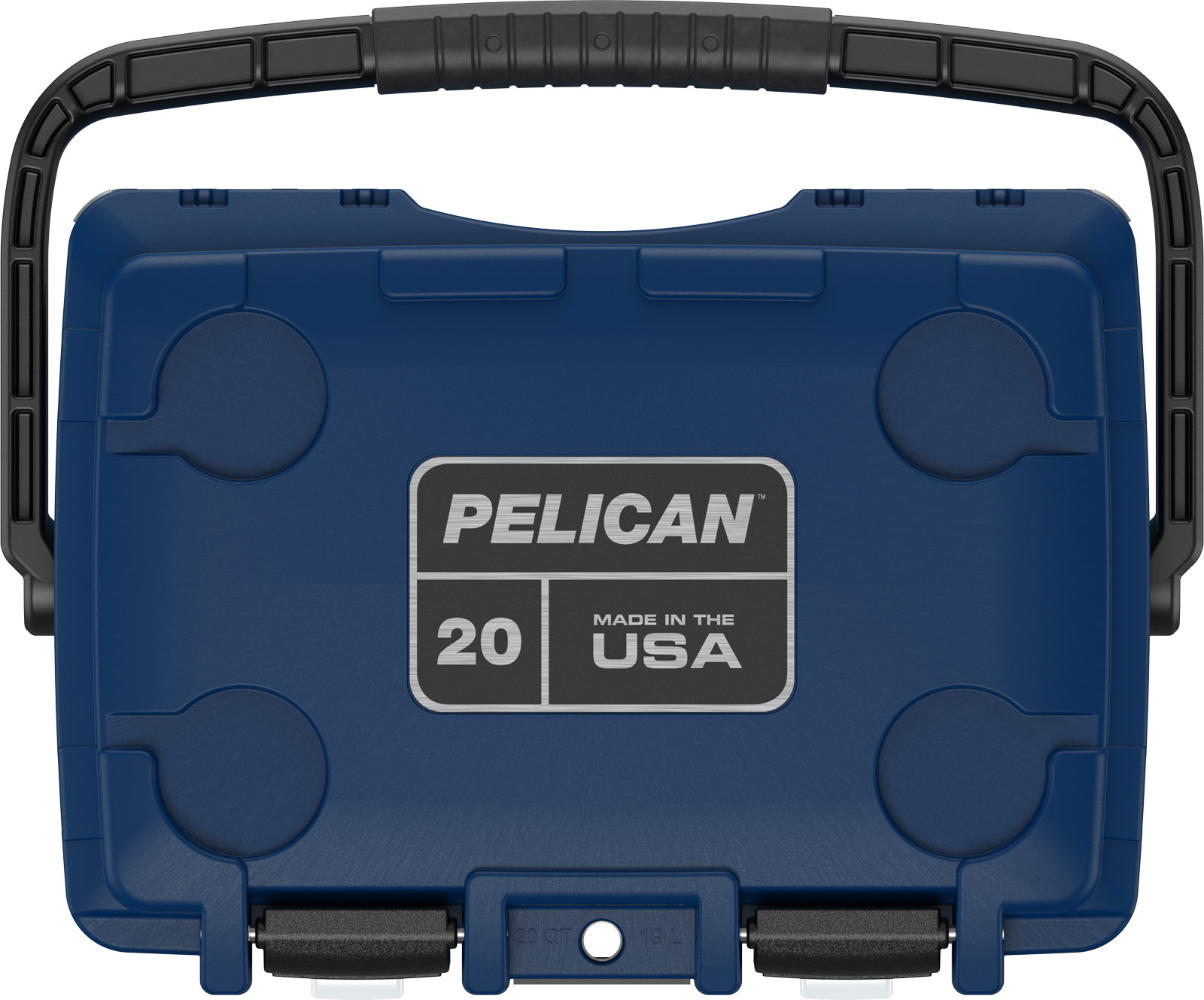 pelican 20qt american flag cooler red white blue