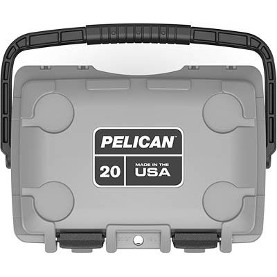 pelican 20qt made in usa cooler marine