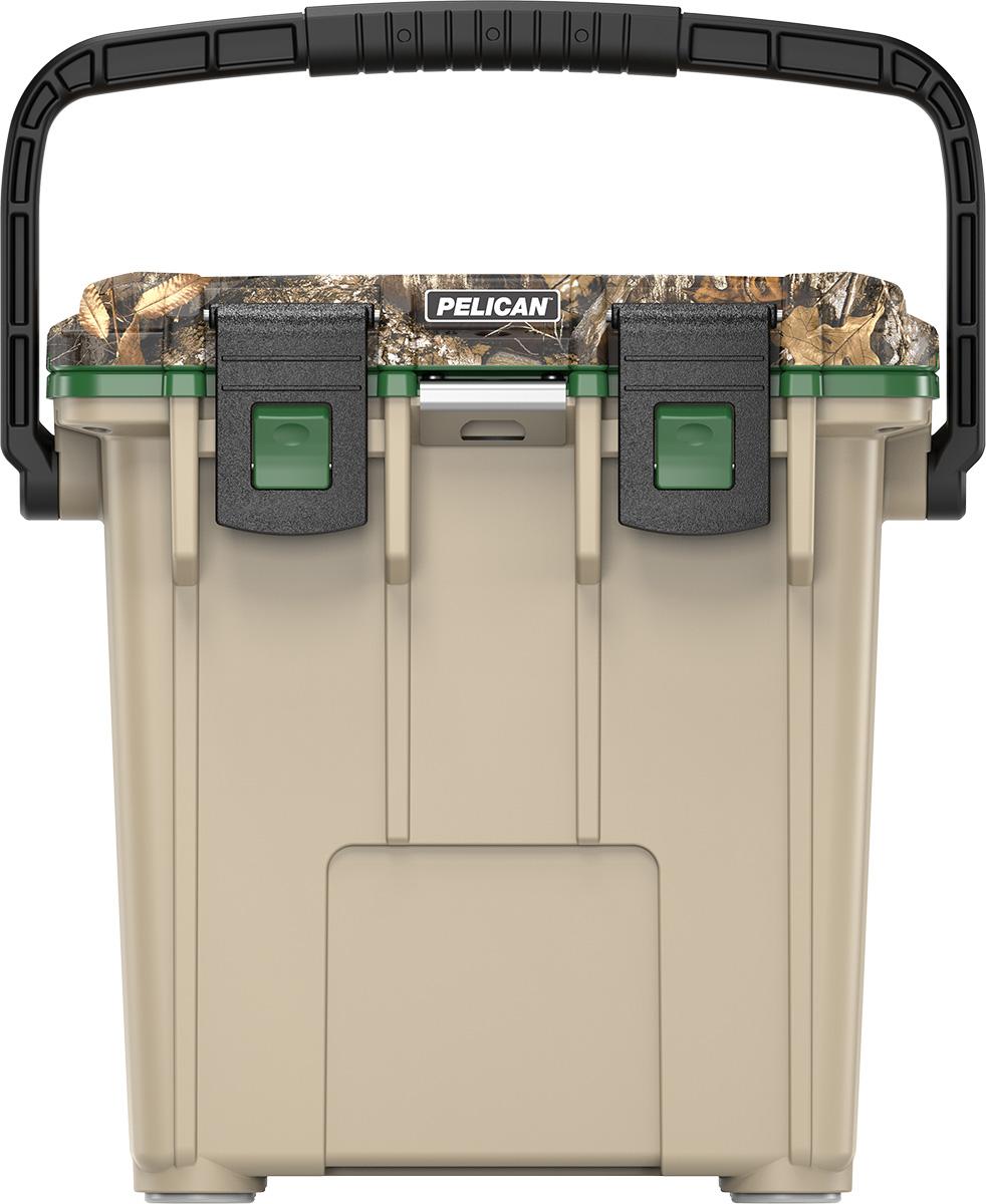 pelican 20qt realtree cooler camo coolers