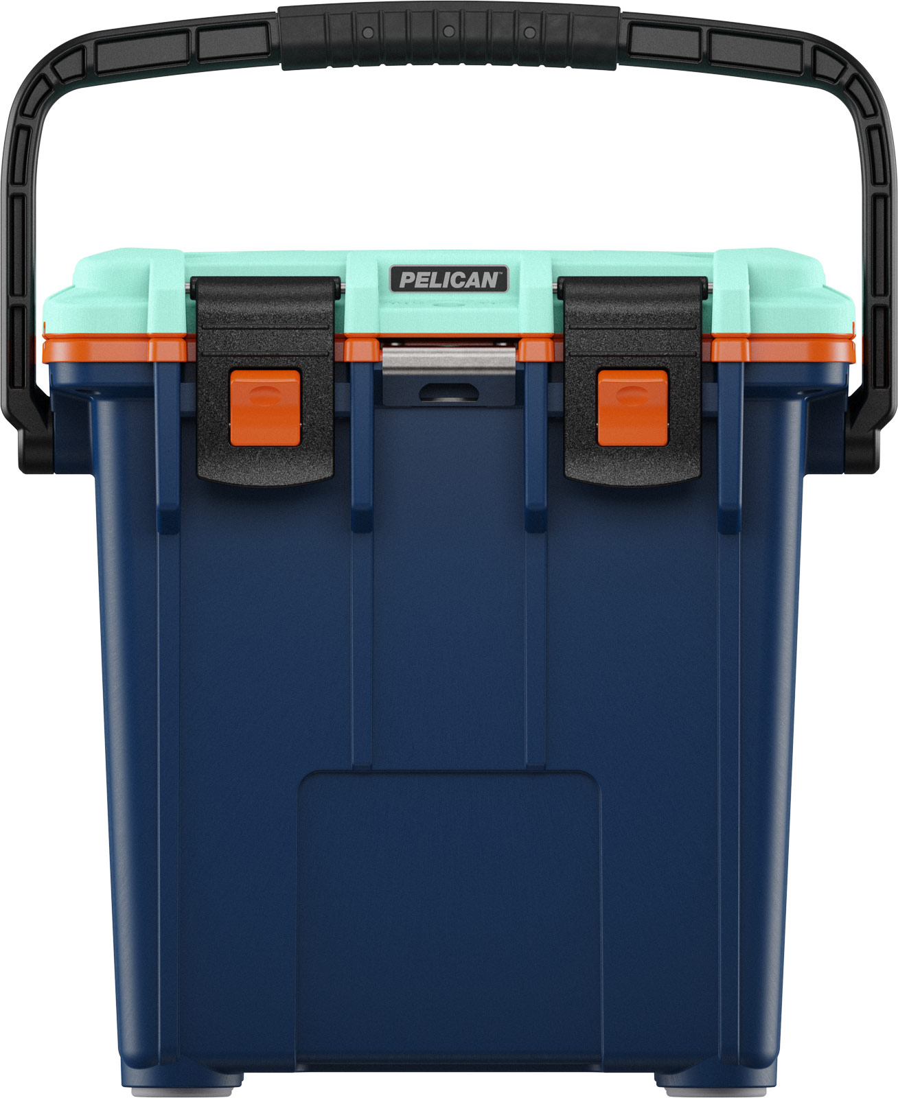 pelican beer cooler 20qt pacific blue orange seafoam
