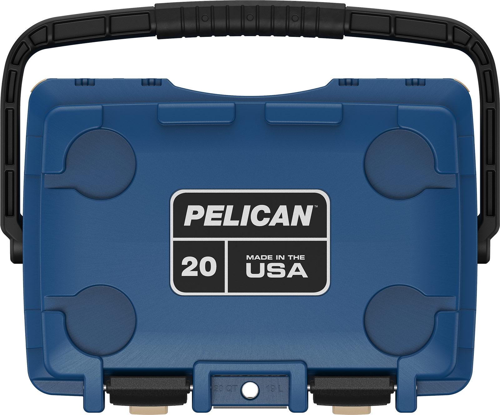 pelican blue overland coolers 20qt cooler