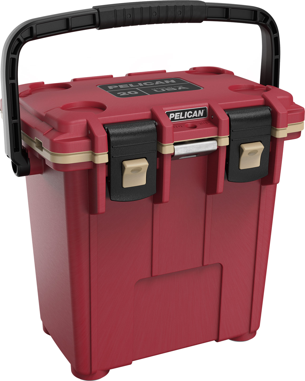pelican canyon red 20qt overland cooler