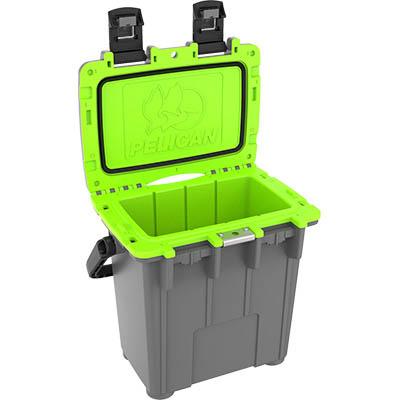 pelican green 20qt cooler camping coolers