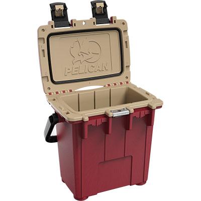 pelican outdoor coolers 20qt overland cooler