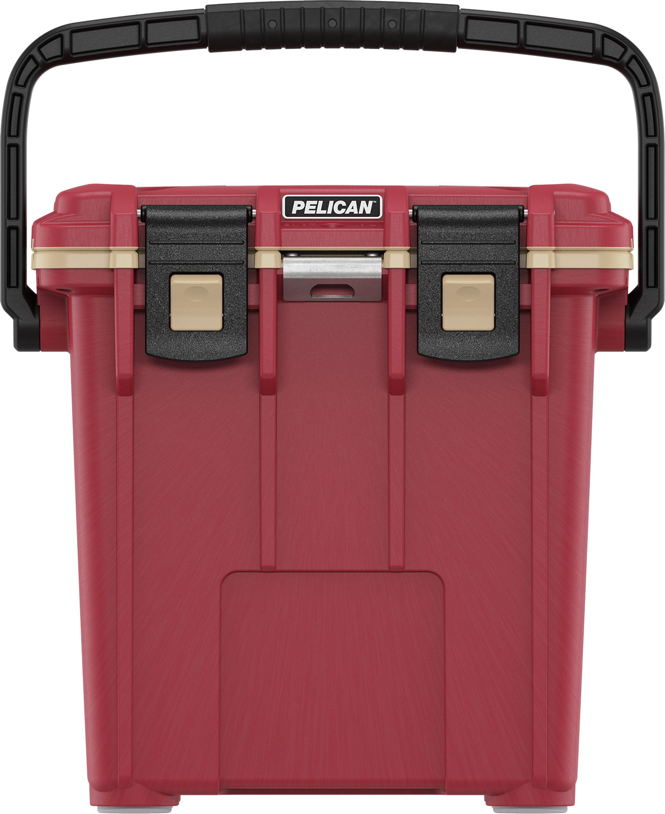 pelican overloand cooler 20qt canyon red