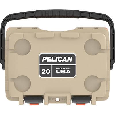 pelican tan elite cooler made in usa coolers
