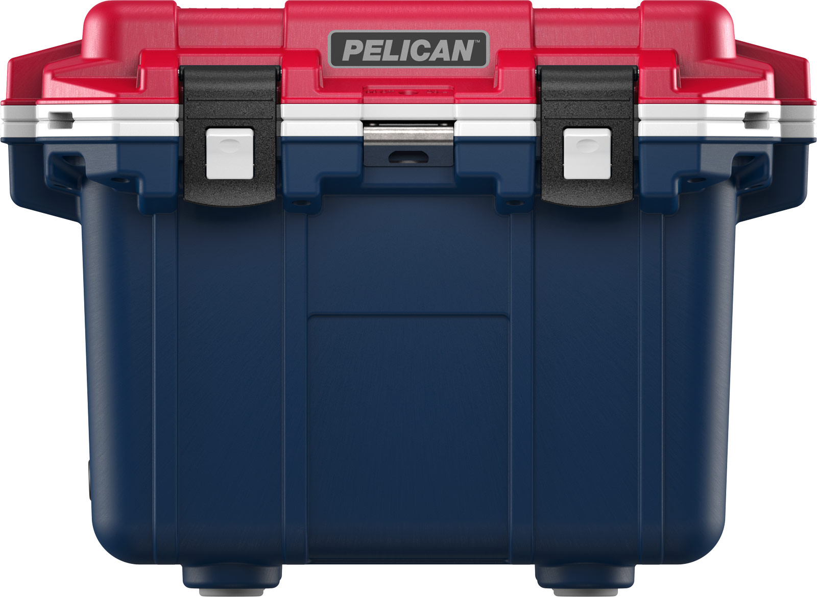 pelican drink cooler 30qt americana blue white red