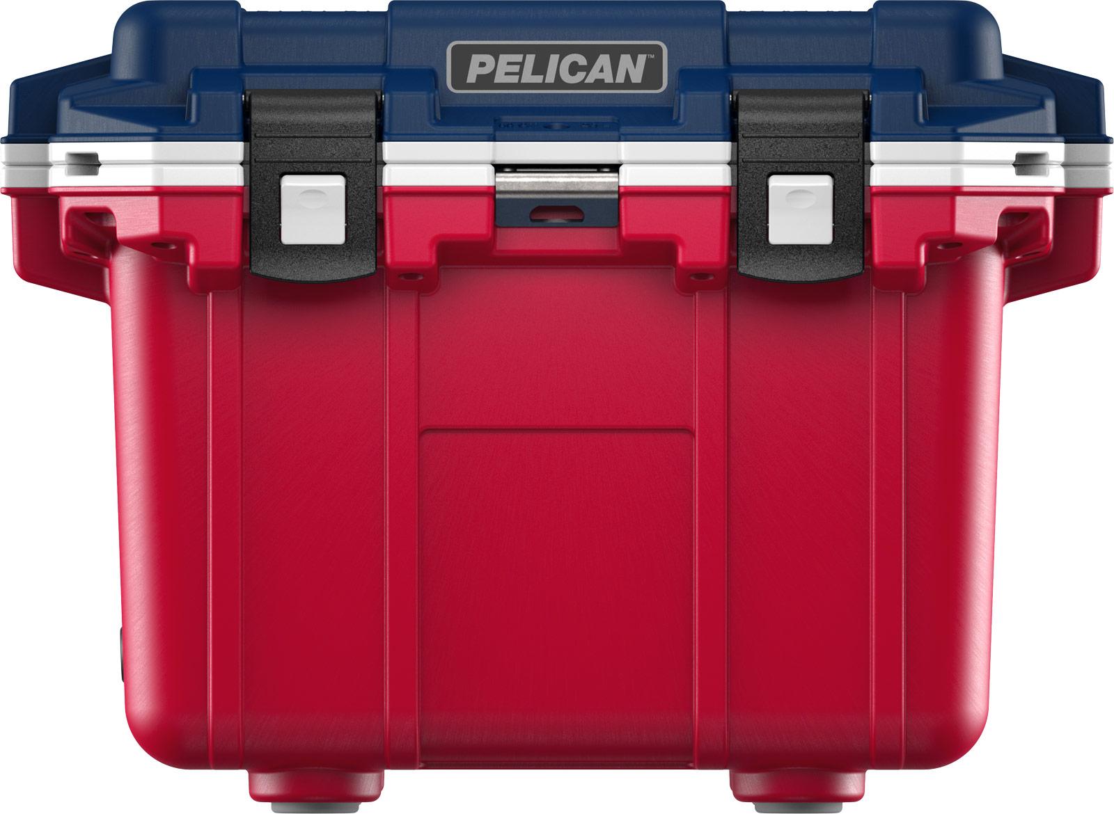 pelican drink cooler 30qt americana red white blue
