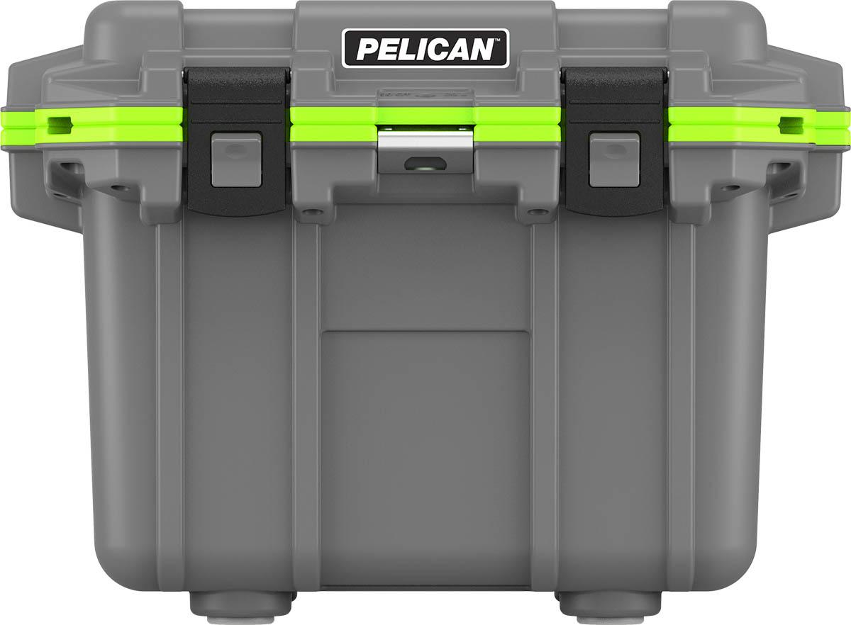 pelican green 30 quart fishing coolers