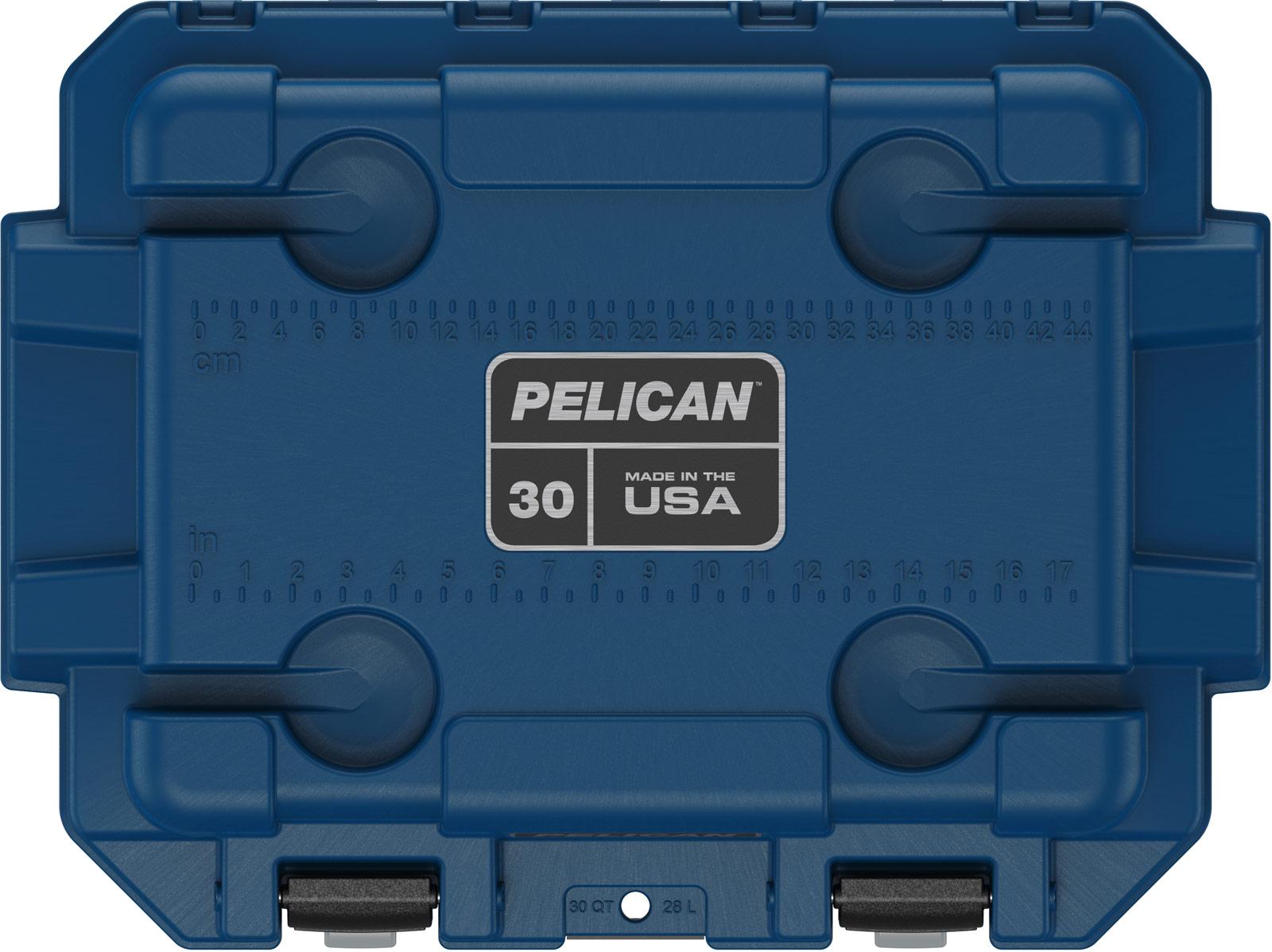 pelican hunting cooler 30qt pacific blue gray