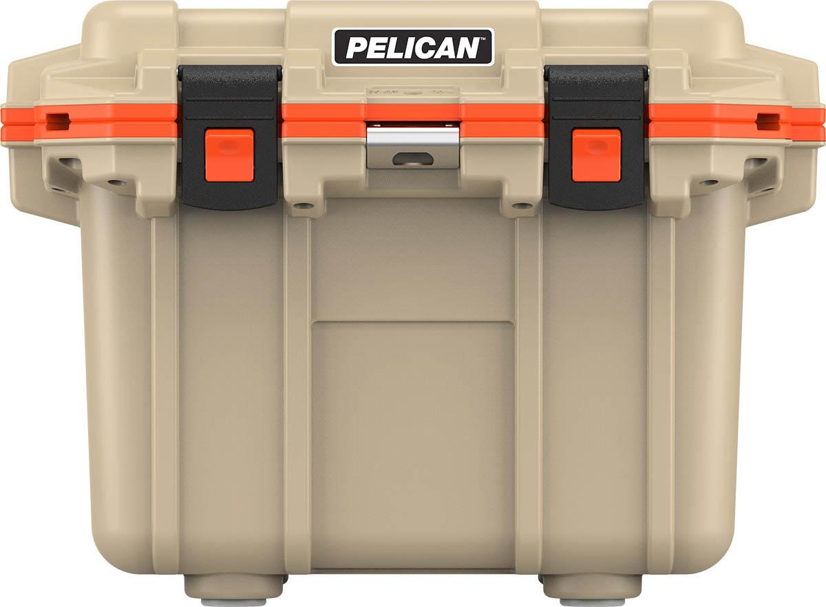 pelican tan cooler outdoor camping coolers