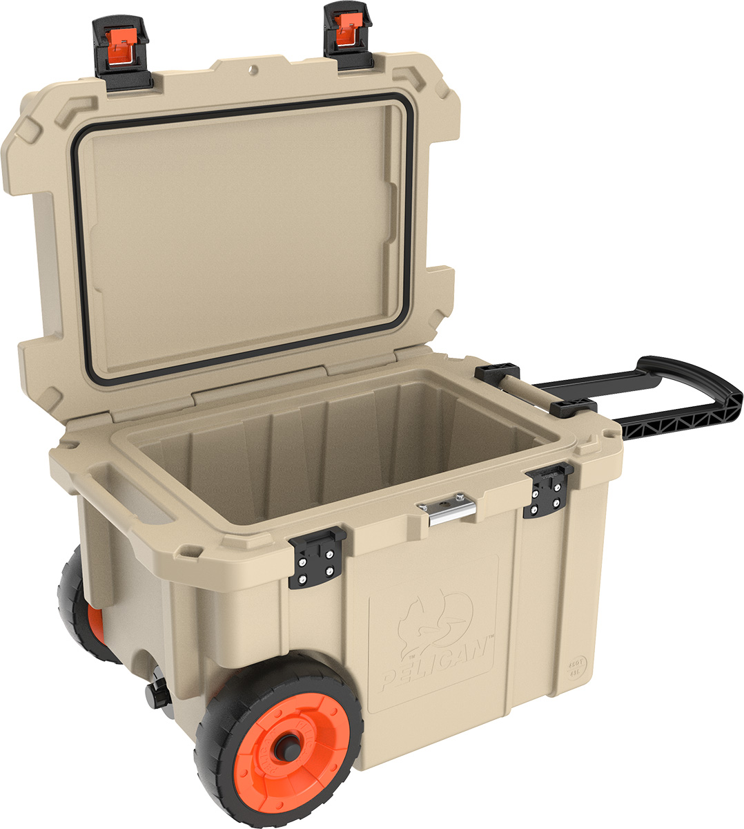 pelican 45qw outdoor hunting cooler wheeled