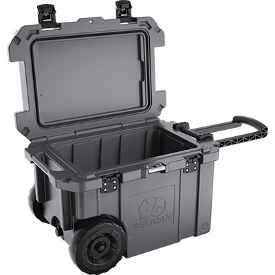 pelican wheeled coolers 45qw rolling cooler
