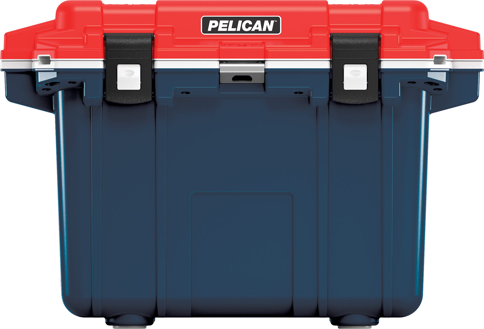pelican 50qt americana cooler red white blue
