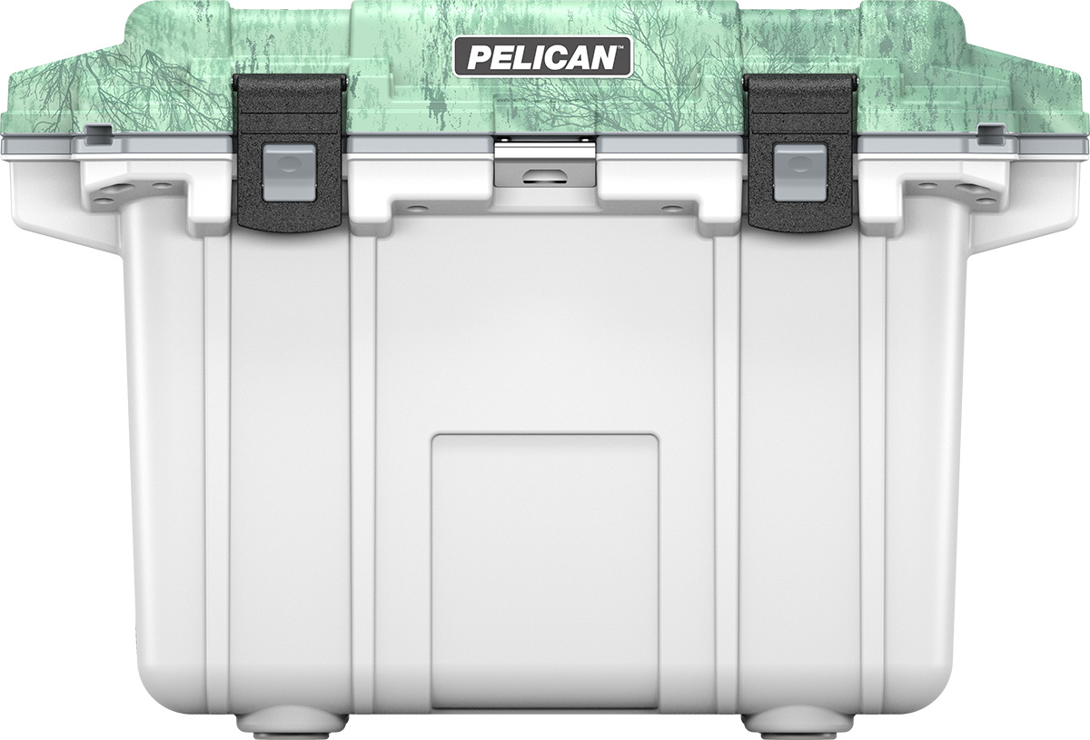 pelican 50qt cooler realtree fish pattern
