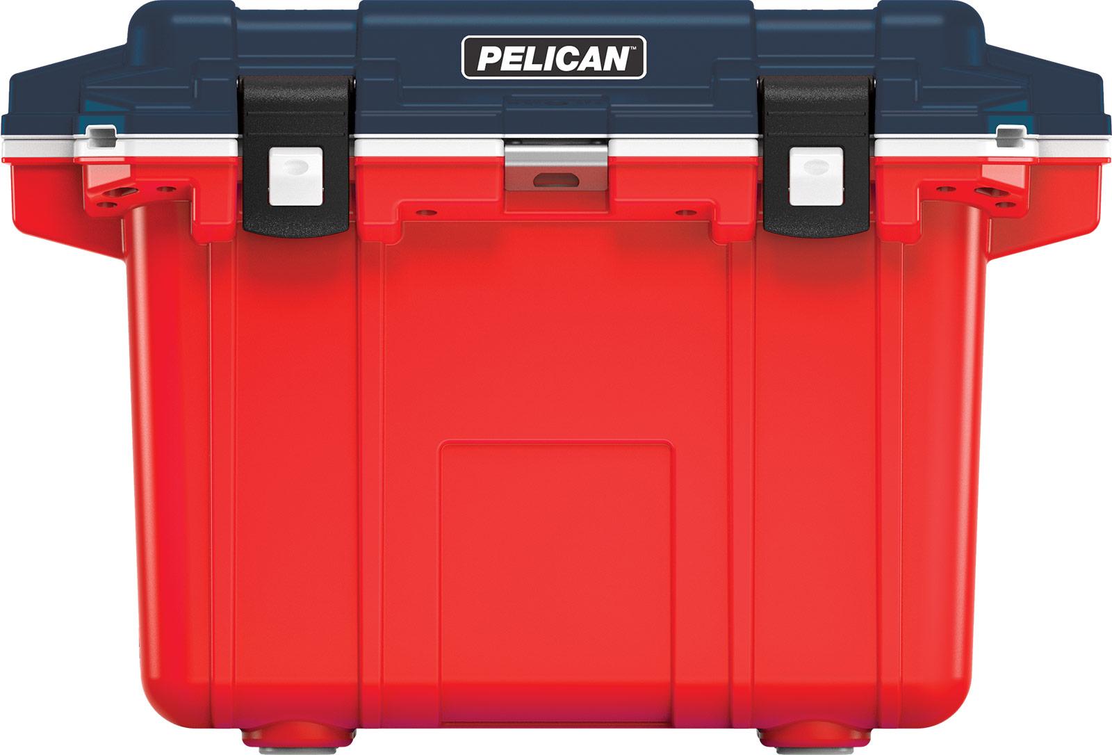 pelican americana coolers 50qt blue white red