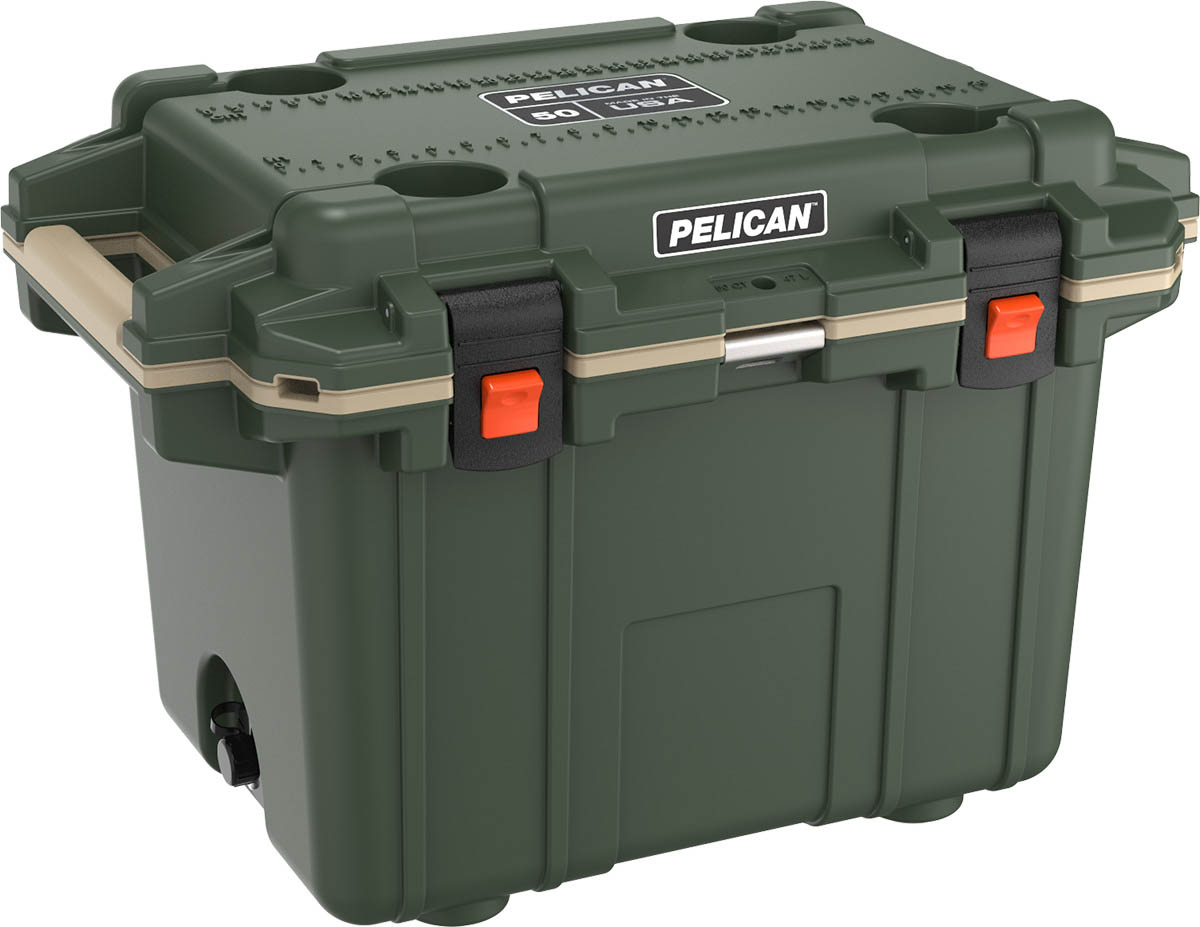 pelican coolers od green hunting cooler