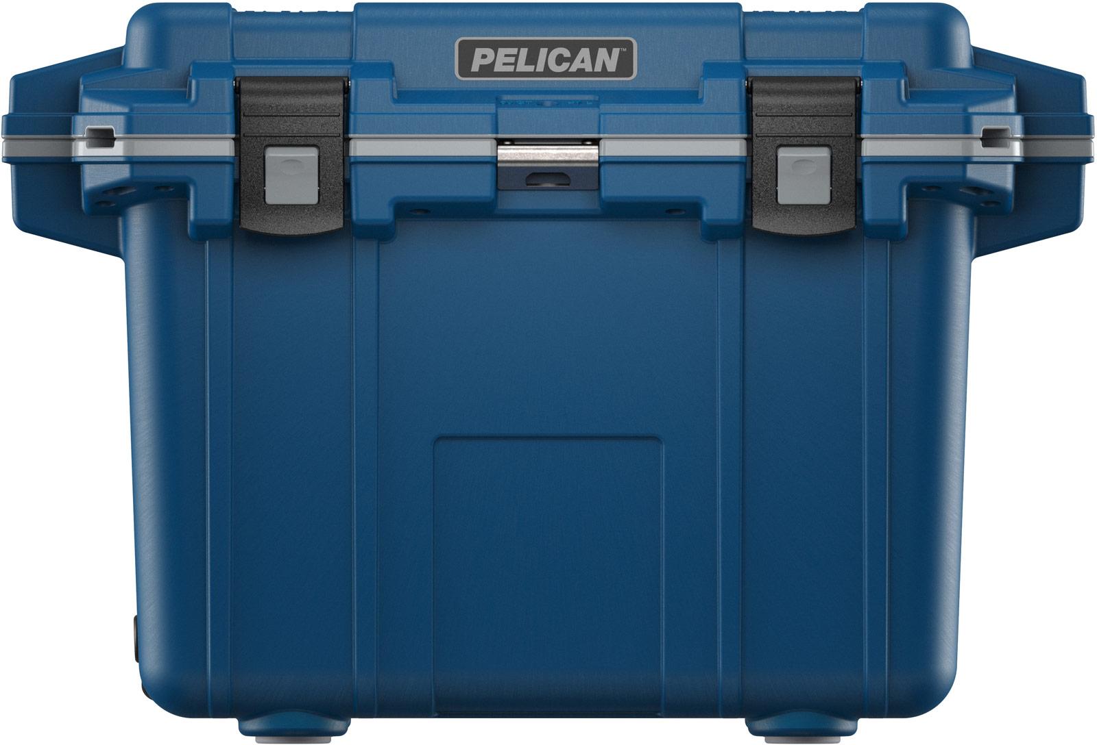 pelican drink cooler 50qt pacific blue gray