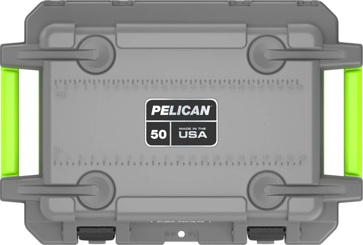 pelican gray cooler outdoor camping coolers