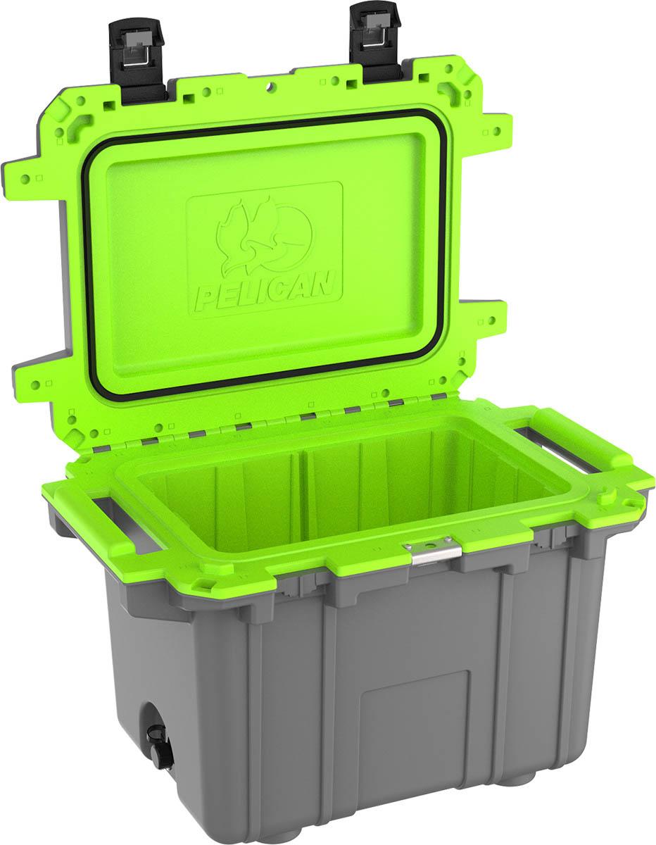 pelican green 50qt cooler super coolers