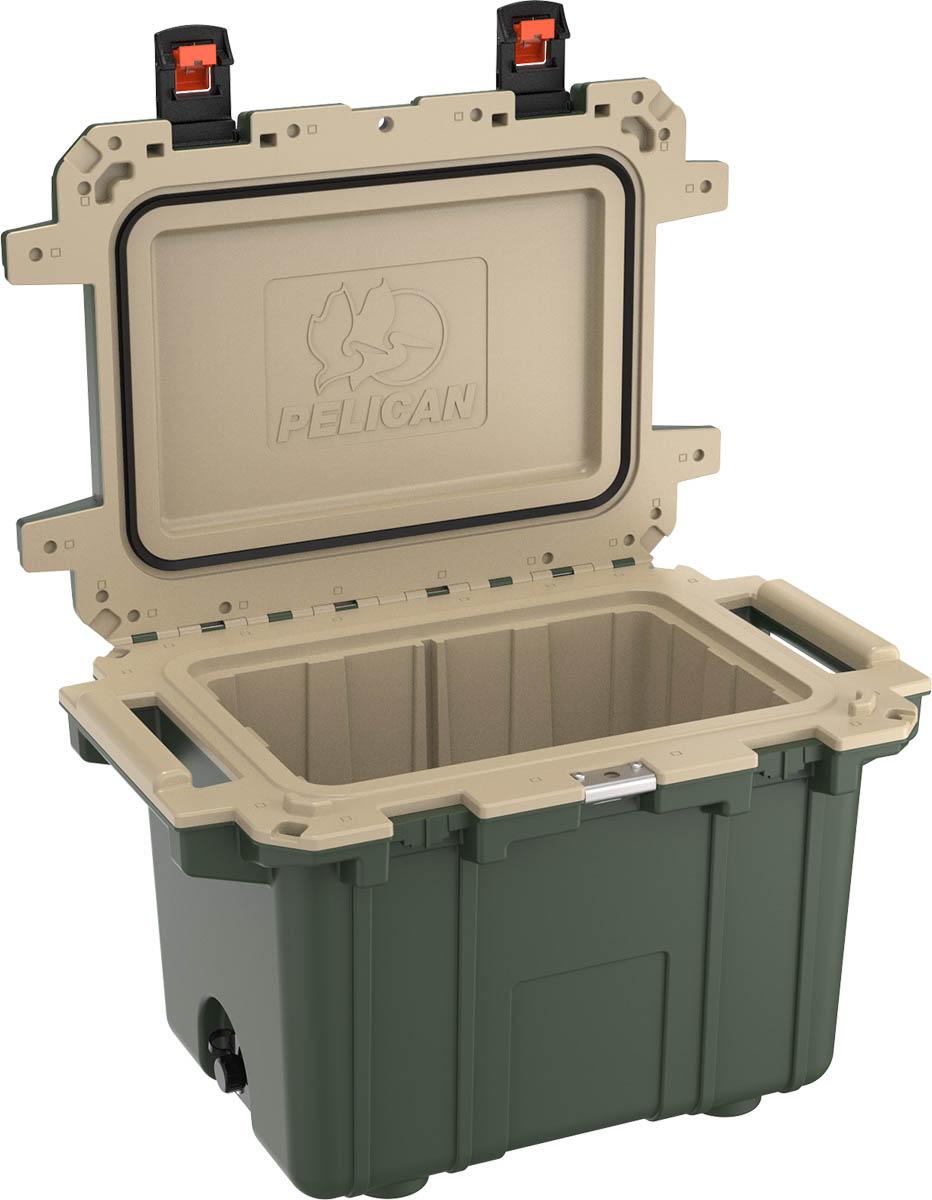 pelican green cooler outdoor hunting coolers