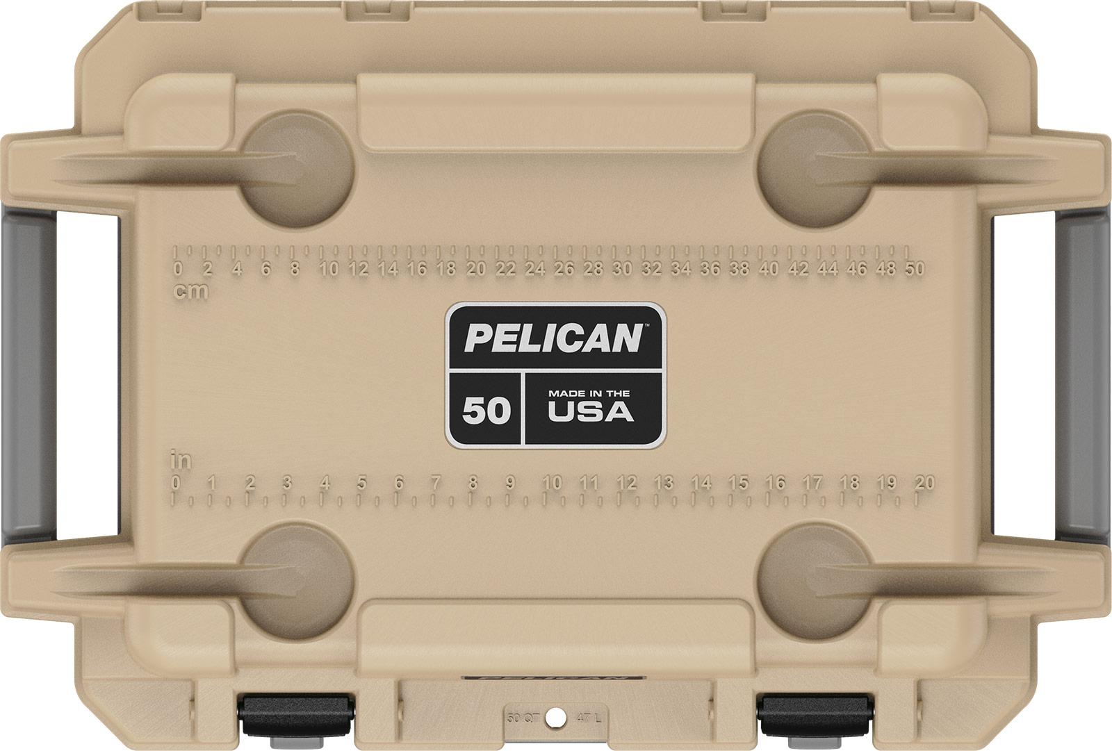 pelican overland coolers 50 qt coyote tan