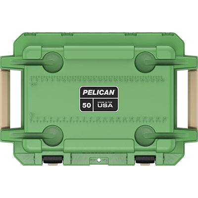 pelican overlanding coolers green 50 quart