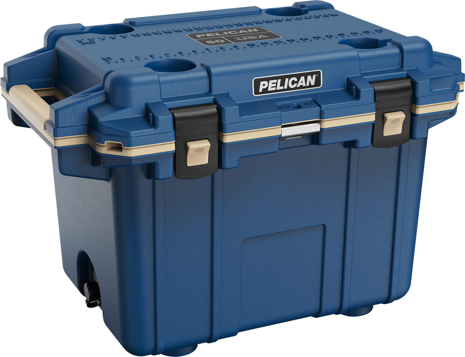 pelican pacific blue cooler 50qt overland