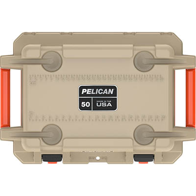 pelican usa made coolers 50qt hunting cooler