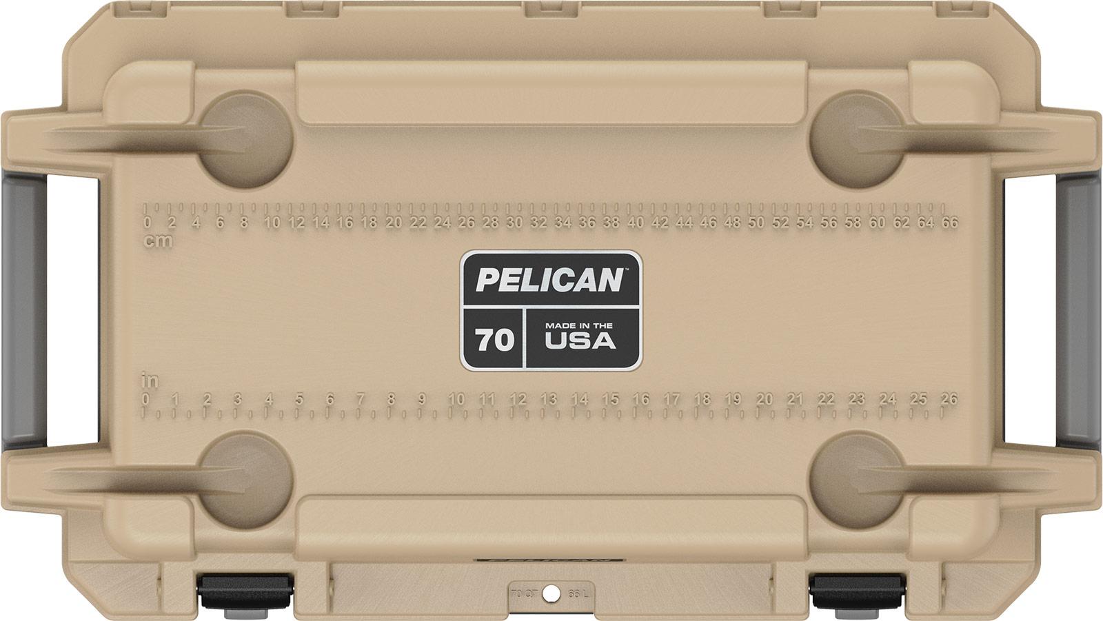 pelican coyote tan 70qt overland cooler